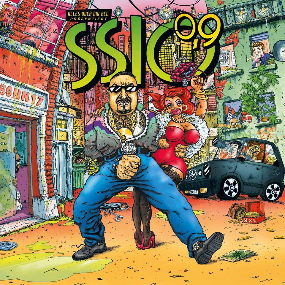 SSIO – 0,9 Albumcover