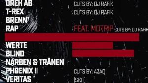 LEBEN II Tracklist Beitragsbild